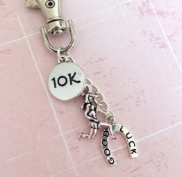 Good Luck 10K Keychain