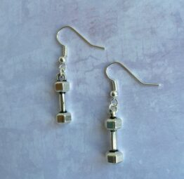 Dumbbell Earrings