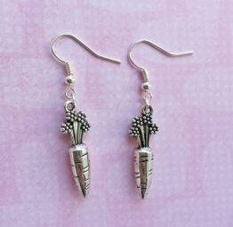 Carrot Earrings | WarriHER