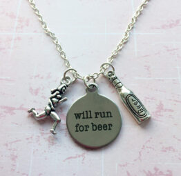 Will Run For Beer Necklace (Aleathlon)