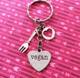 vegan-keychain